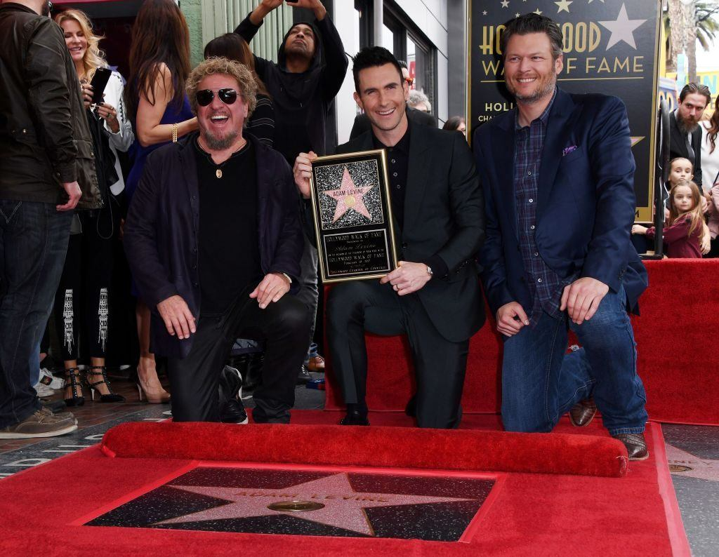 Adam Levine honored with a Hollywood Walk of Fame star