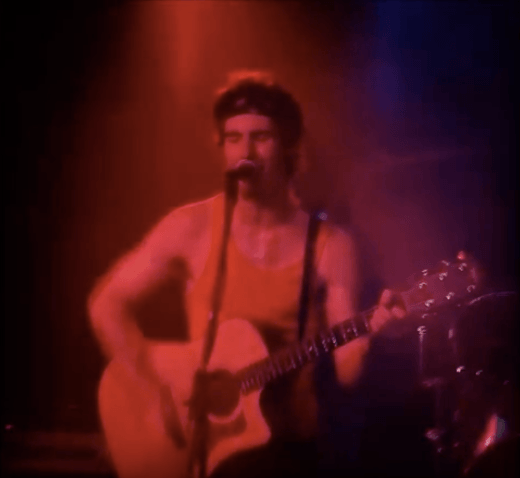 Adam Levine from Maroon 5 playing in a band in 1998