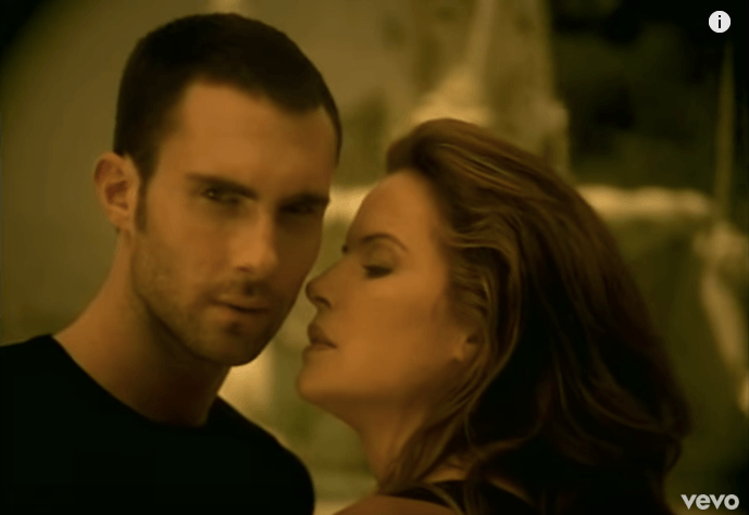 "Adam Levine in the ""She Will Be Loved"" music video"