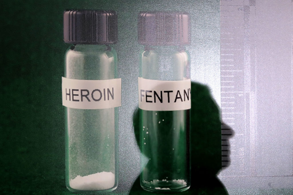Heroin dose compared to Fentanyl