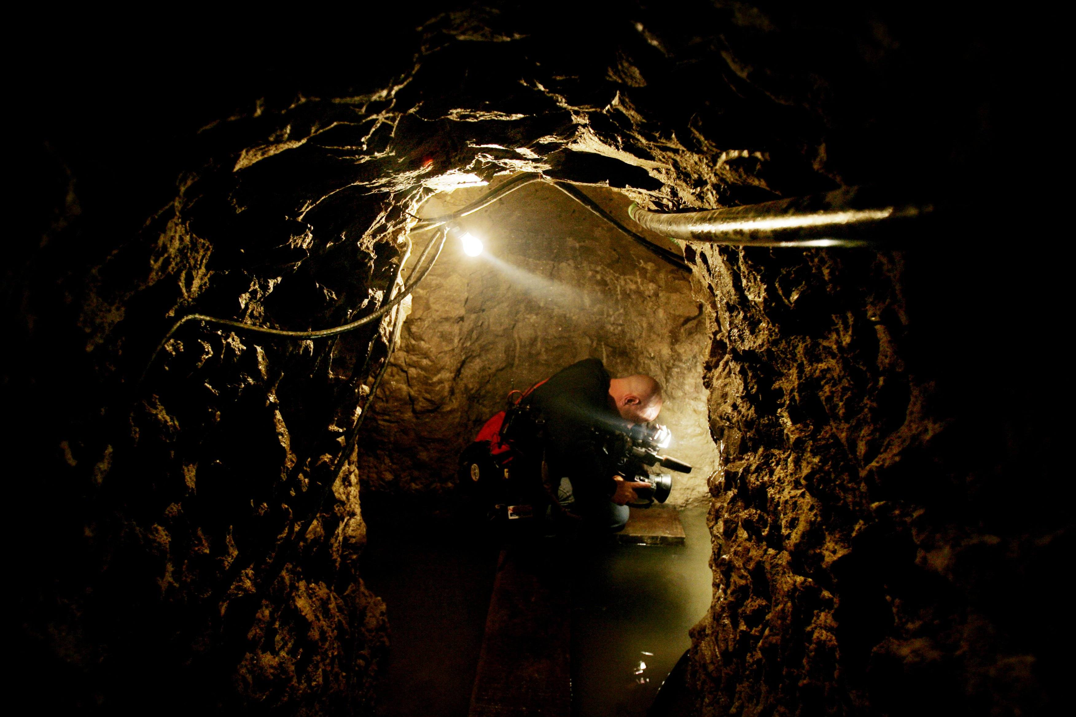 California drug tunnel