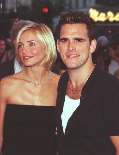 Cameron Diaz and Matt Dillon arrive for the premiere of 'There's Something About Mary'