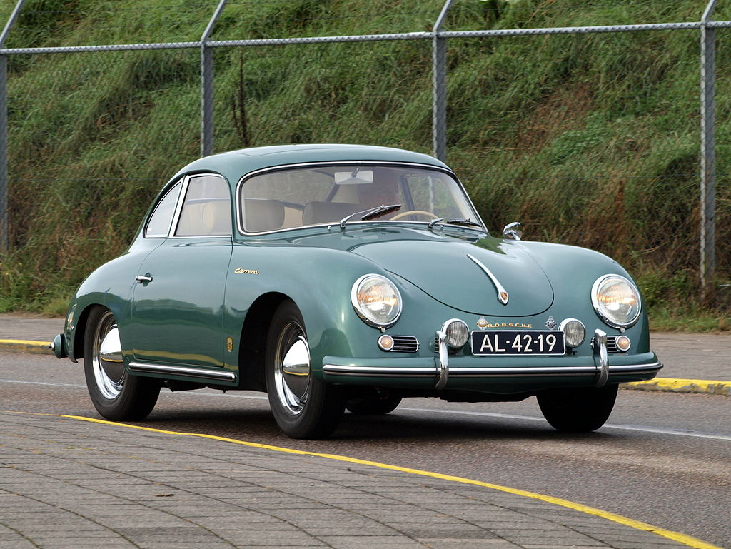 1956 PORSCHE 356A 1500 GS CARRERA-david letterman's car collection