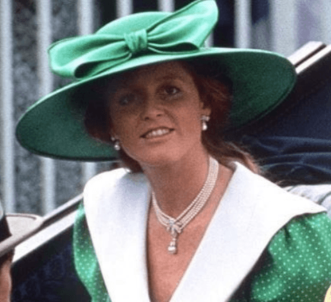Fergie in Green Hat