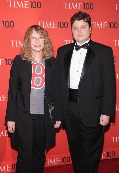 Actress Mia Farrow and Fletcher Previn