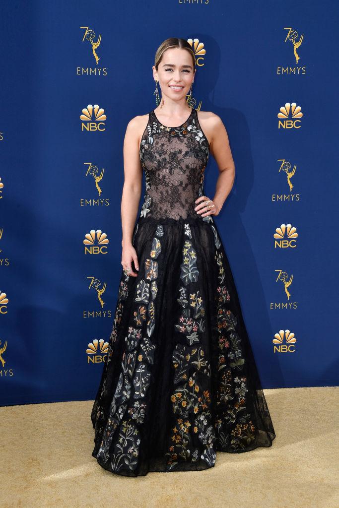 Game of Thrones actress Emilia Clarke.