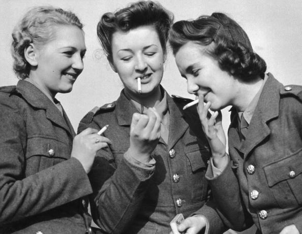 ATS women smoking
