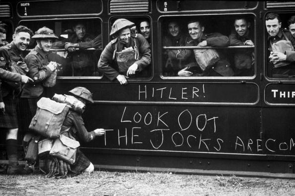 Warning to Hitler