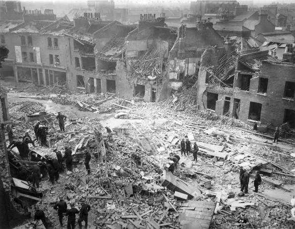London air raid