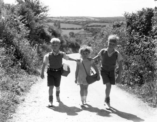 Evacuee children