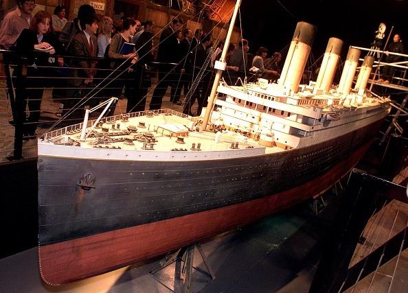 Scale model of the Titanic