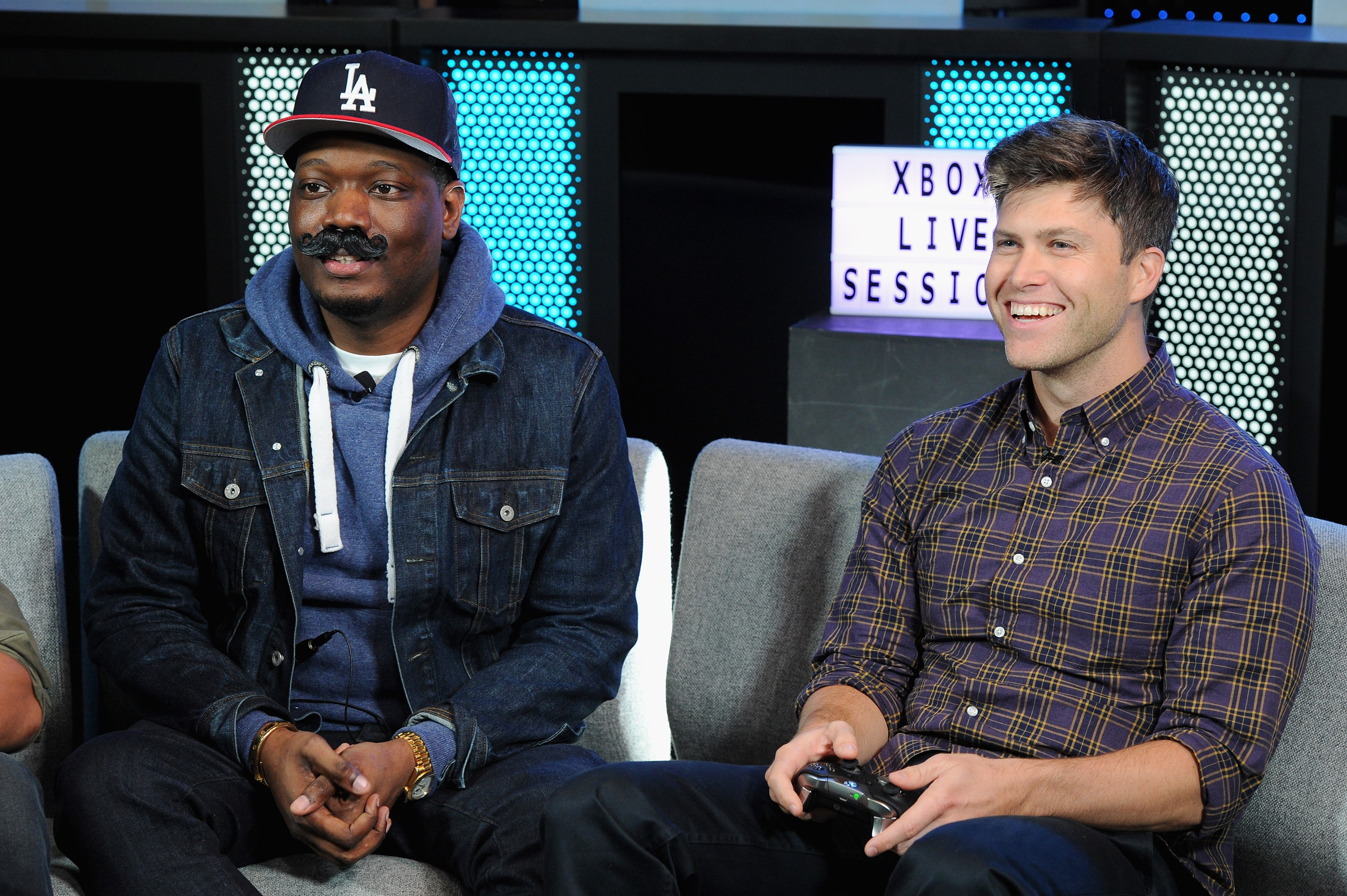 Saturday Night Live's Michael Che and Colin Jost