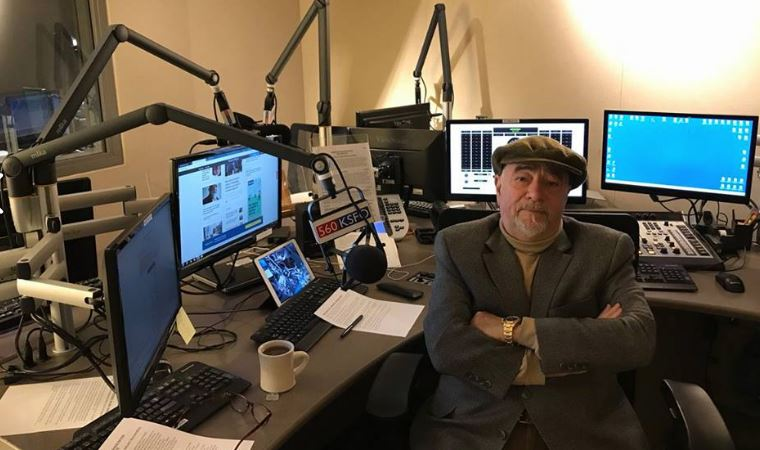 Radio show host Michael Savage