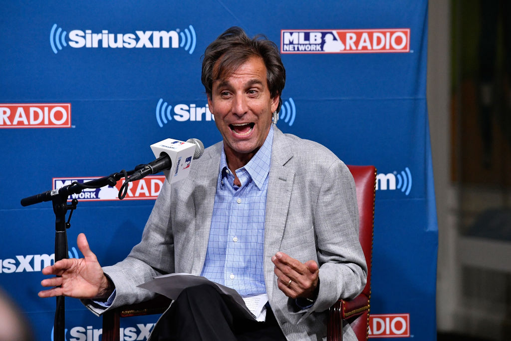 "SiriusXM host Chris ""Mad Dog"" Russo"