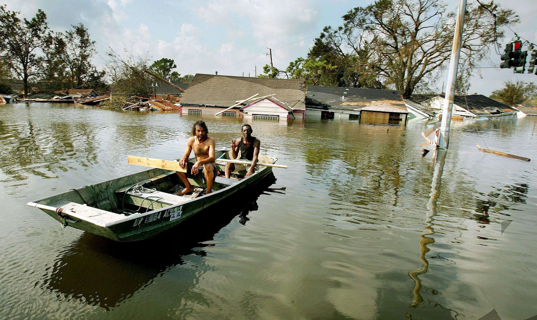Ninth Ward New Orleans after Hurricane Katrina