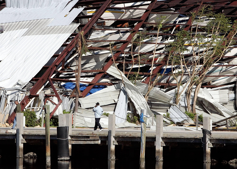 Florida Keys hurricane damage