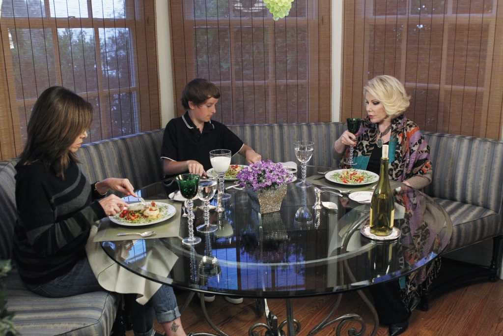 Joan Melissa and Cooper Rivers on ABC's 'Celebrity Wife Swap'