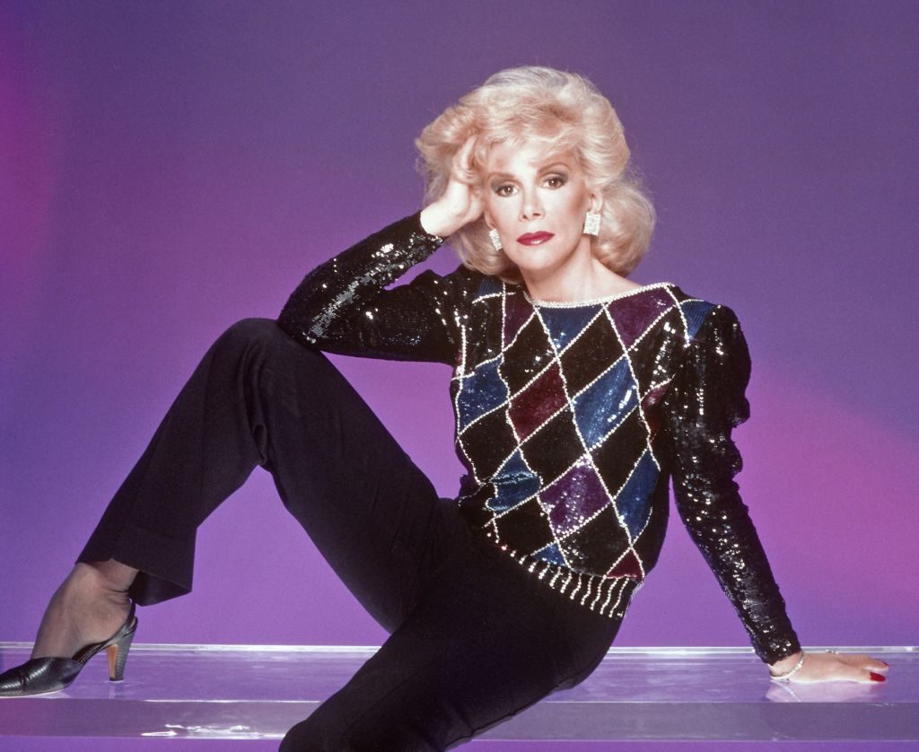 Joan Rivers poses for a portrait