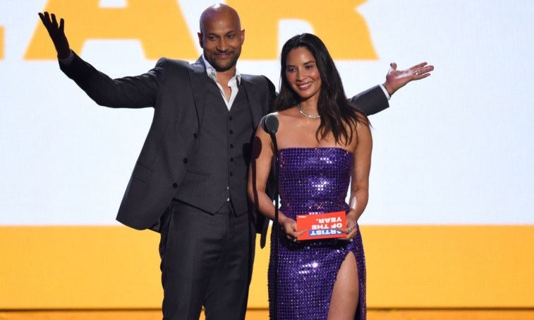 Keegan-Michael Key and Olivia Munn