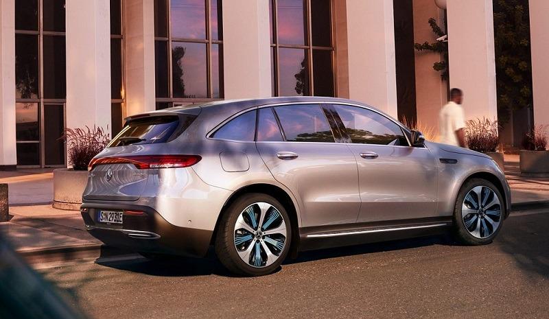 Mercedes Eqc Benz Heres  Electric Bring