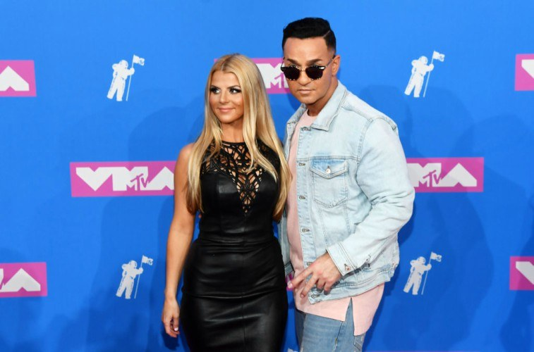 Mike Sorrentino and Lauren Pesce