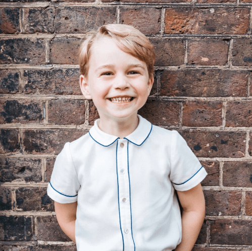 Prince George on his 5th birthday