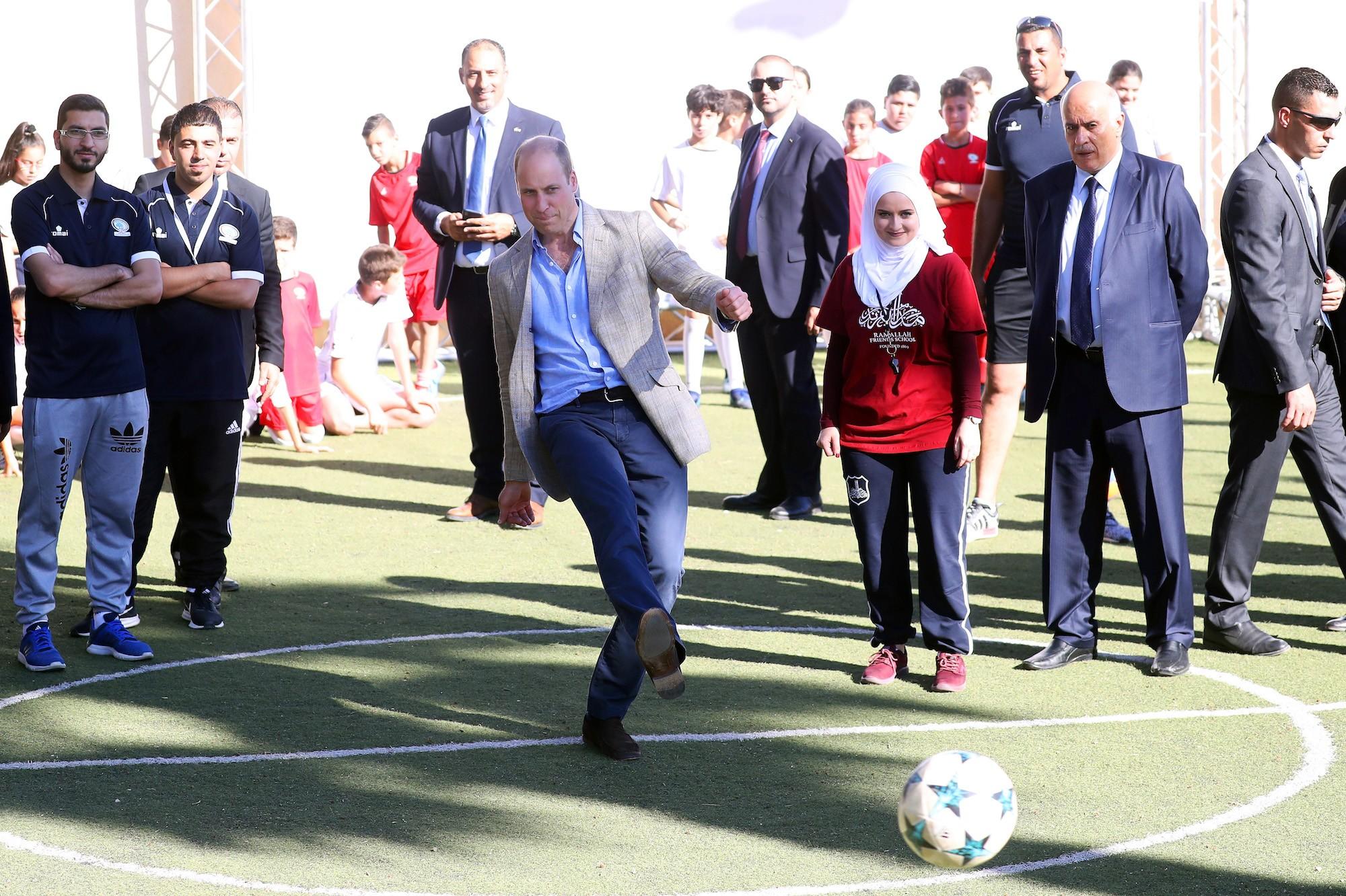 Prince William soccer