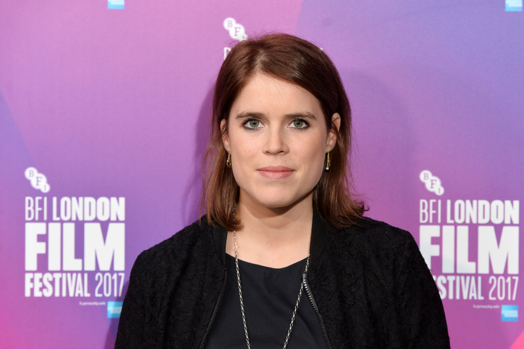 "Princess Eugenie of York arrives at the European premiere of ""Jane"""