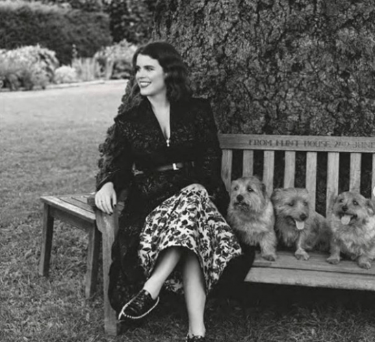 Princess Eugenie and her dogs