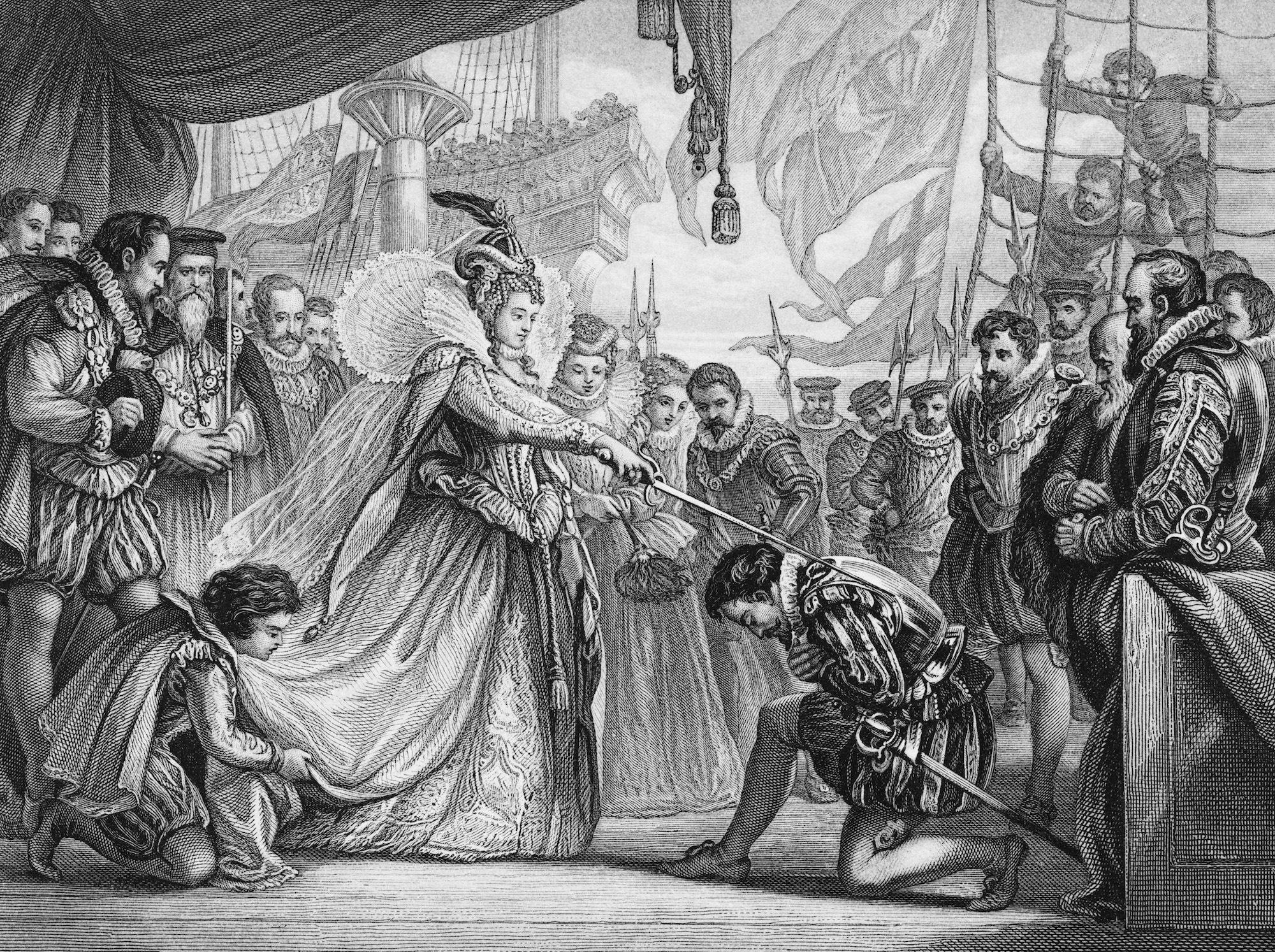 How Is Queen Elizabeth II Related to Queen Elizabeth I?