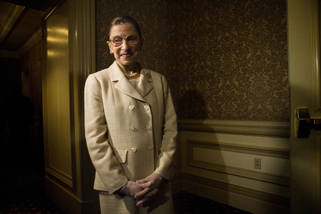 U.S. Supreme Court Justice Ruth Bader Ginsburg in 2006