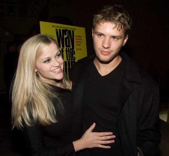 Ryan Phillippe and Reese Witherspoon at the premiere of 'The Way of the Gun'