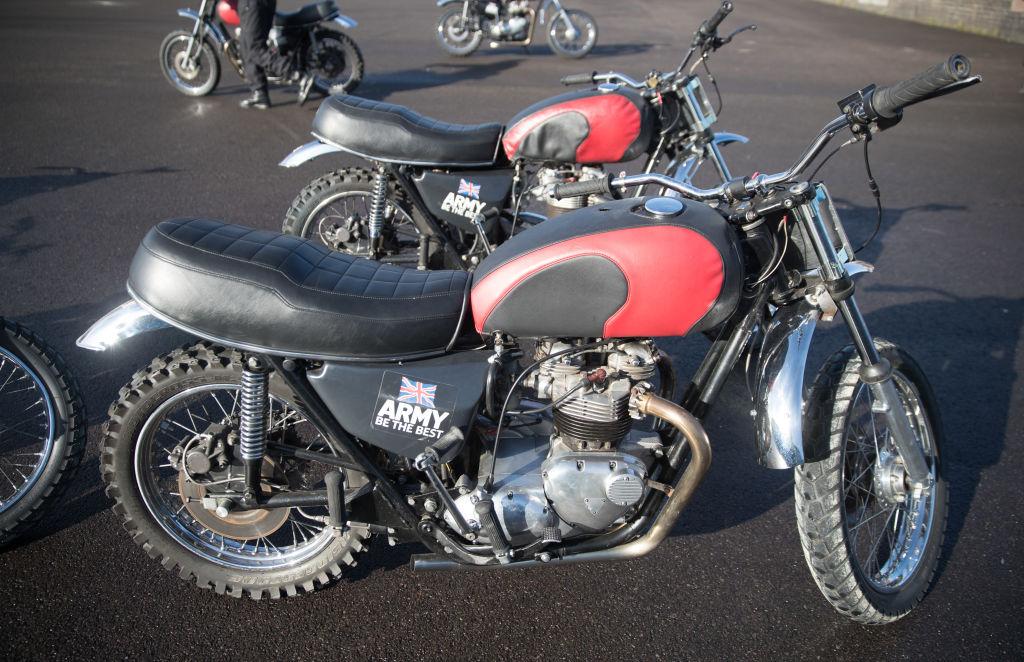 Triumph Tiger motorcycle