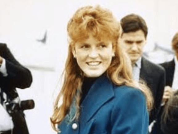 Sarah Ferguson in the '80s