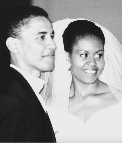 Barack and Michelle wedding