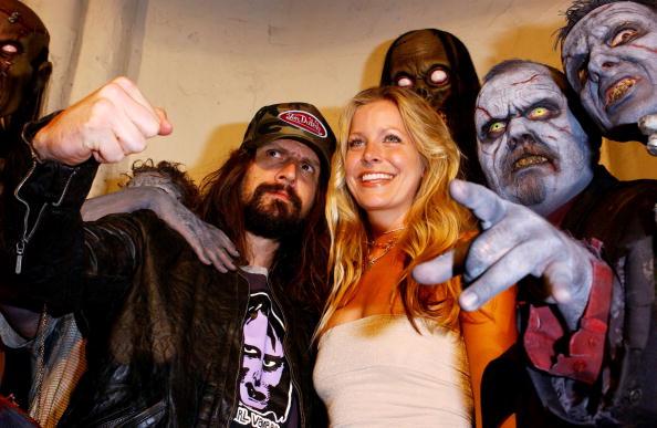 Rob Zombie and actress Sheri Moon Zombie