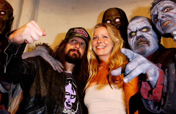 Rob Zombie and actress Sheri Moon Zombie