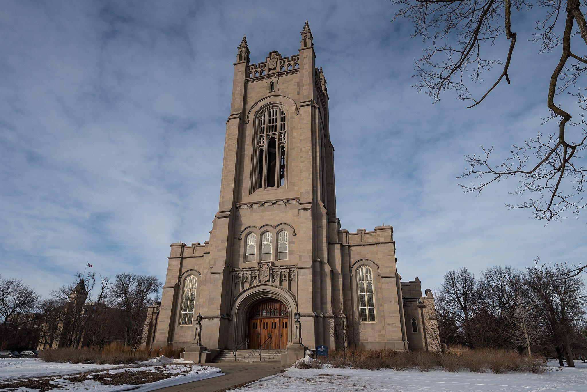 Skinner Memorial Chapel at Carleton College