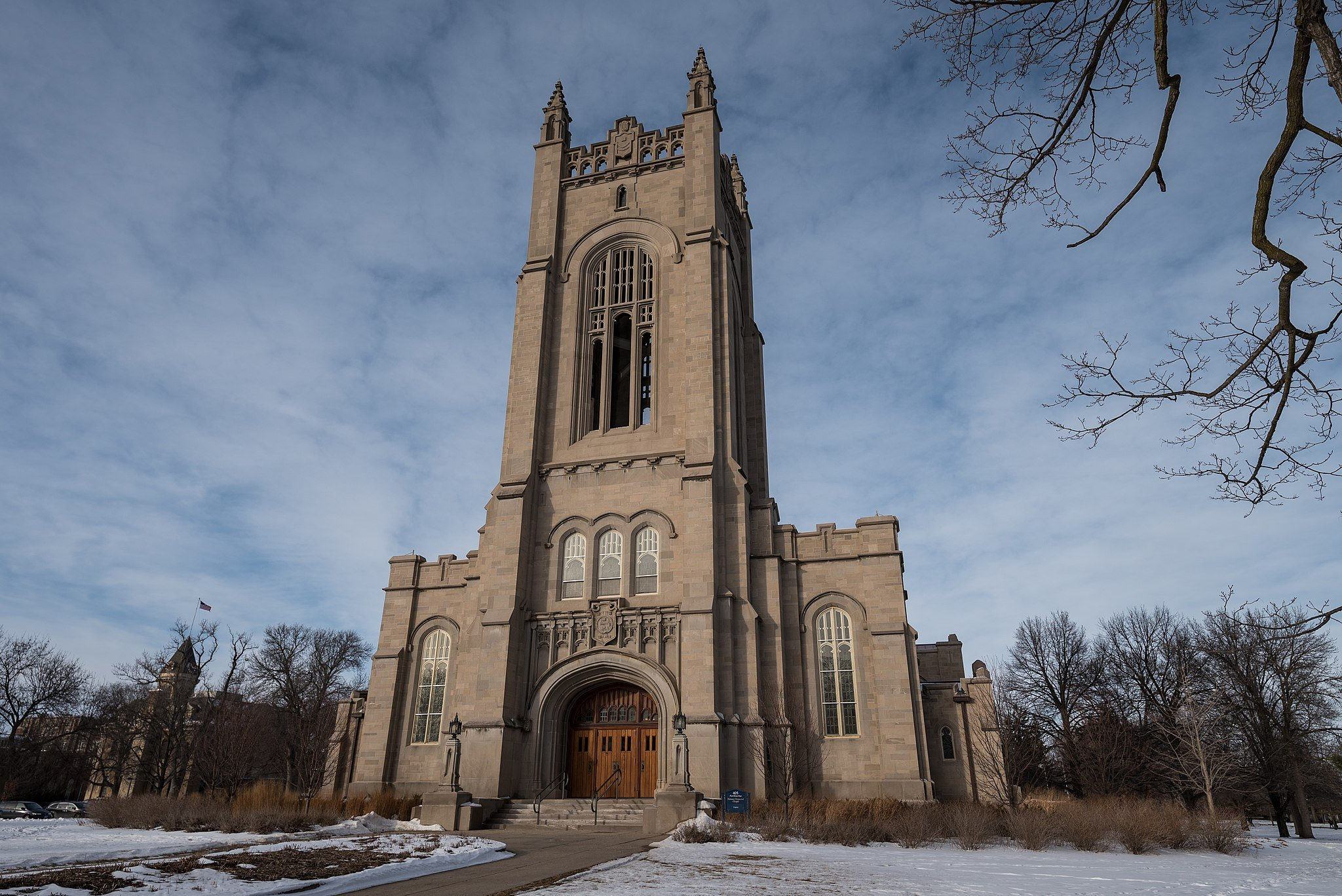 Skinner Memorial Chapel at Carleton College