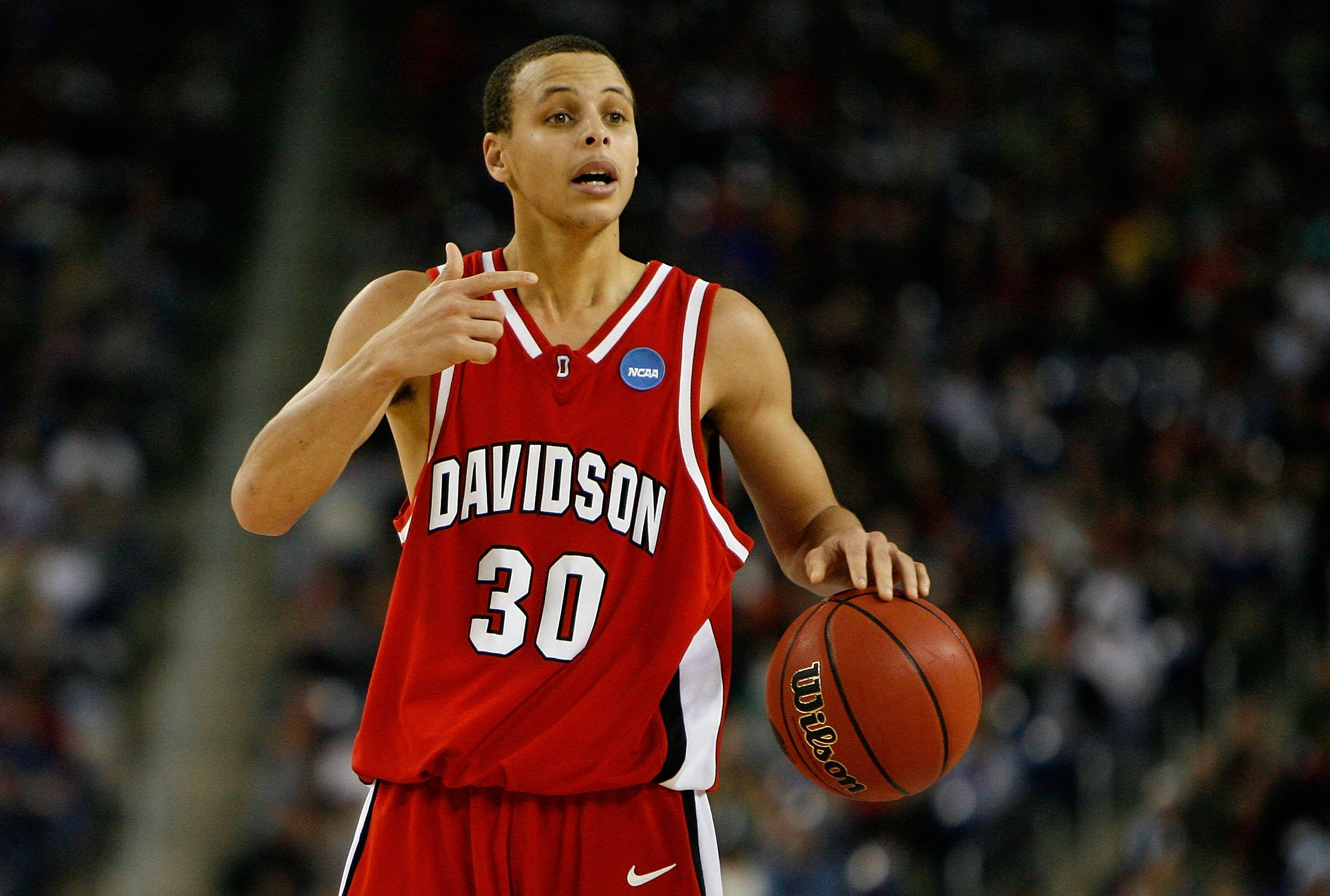 Stephen Curry Davidson College
