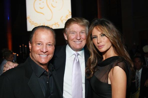 Stewart Rahr, Donald and Melania Trump in 2008
