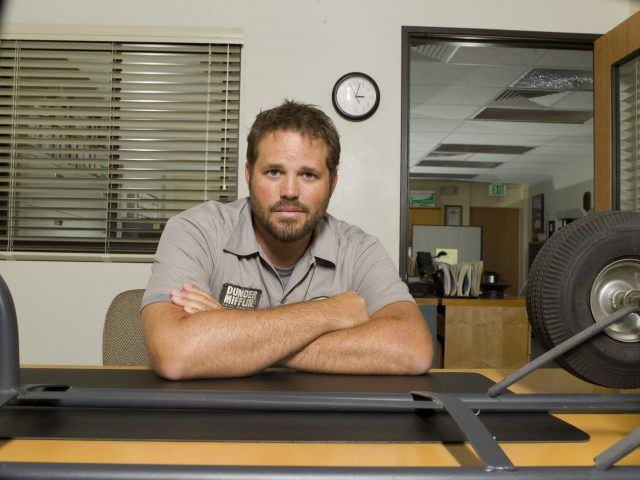 "David Denman as Roy on ""The Office"""