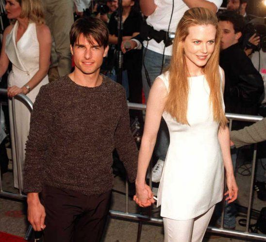 Tom Cruise and Nicole Kidman arrive for the premiere of 'Mission Impossible'