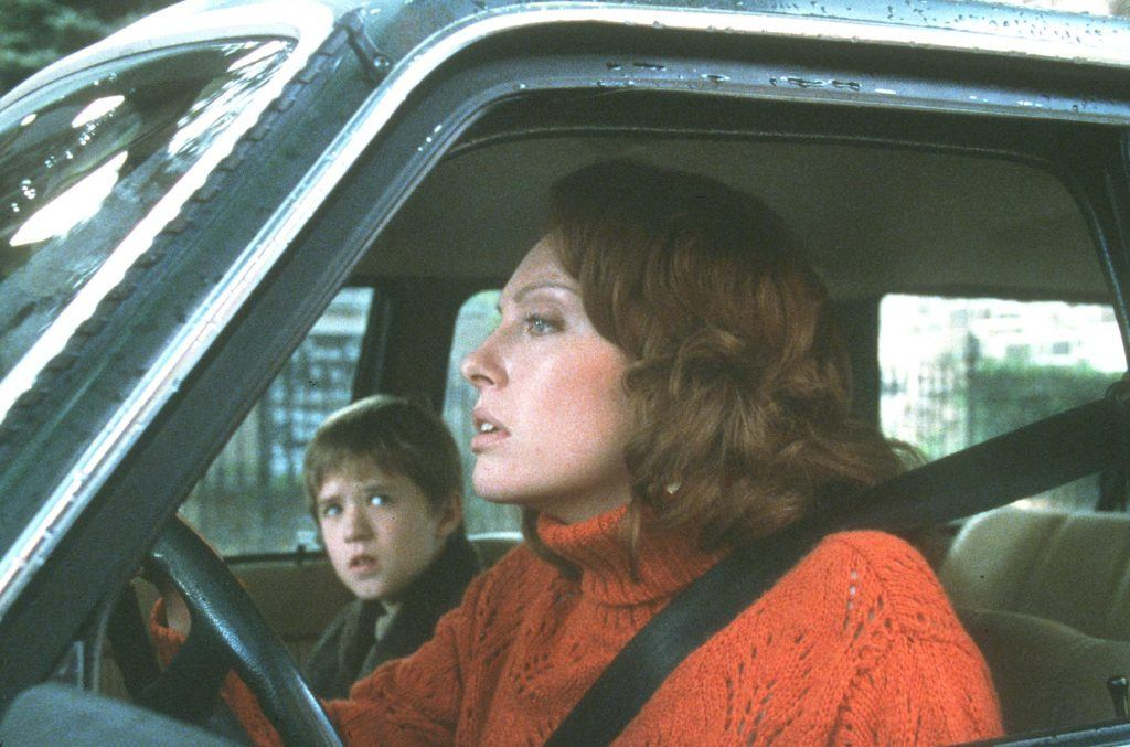 Haley Joel Osment and Toni Collette in The Sixth Sense