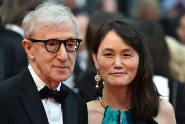 Woody Allen and his wife, Soon-Yi Previn
