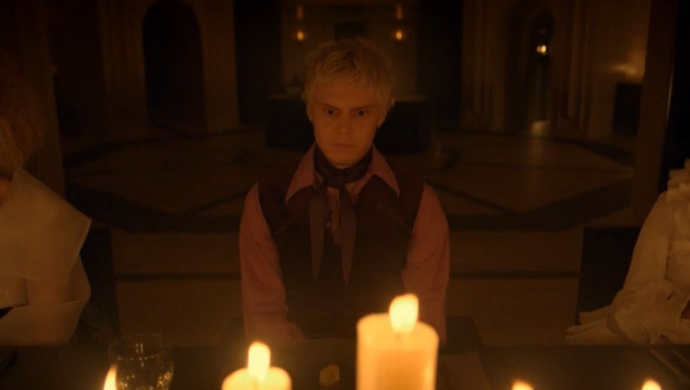 Evan Peters in American Horror Story: Apocalypse