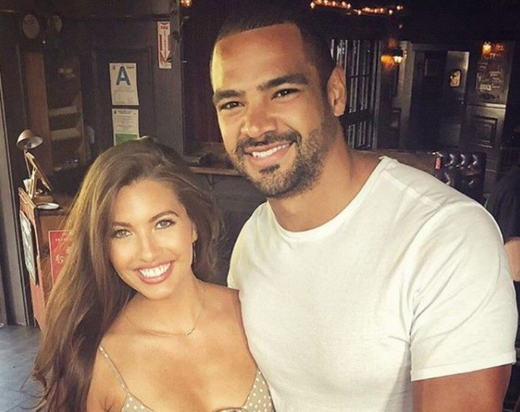 Clay Harbor and Angela Amezcua from Bachelor in Paradise