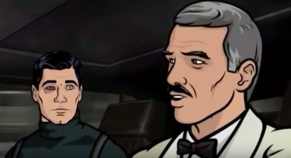Burt Reynolds voiced himself on 'Archer'