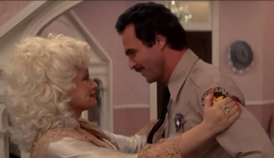 Burt Reynolds and Dolly Parton
