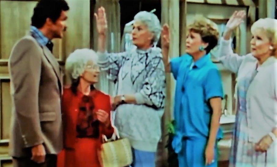 Burt Reynolds makes an appearance on 'The Golden Girls'